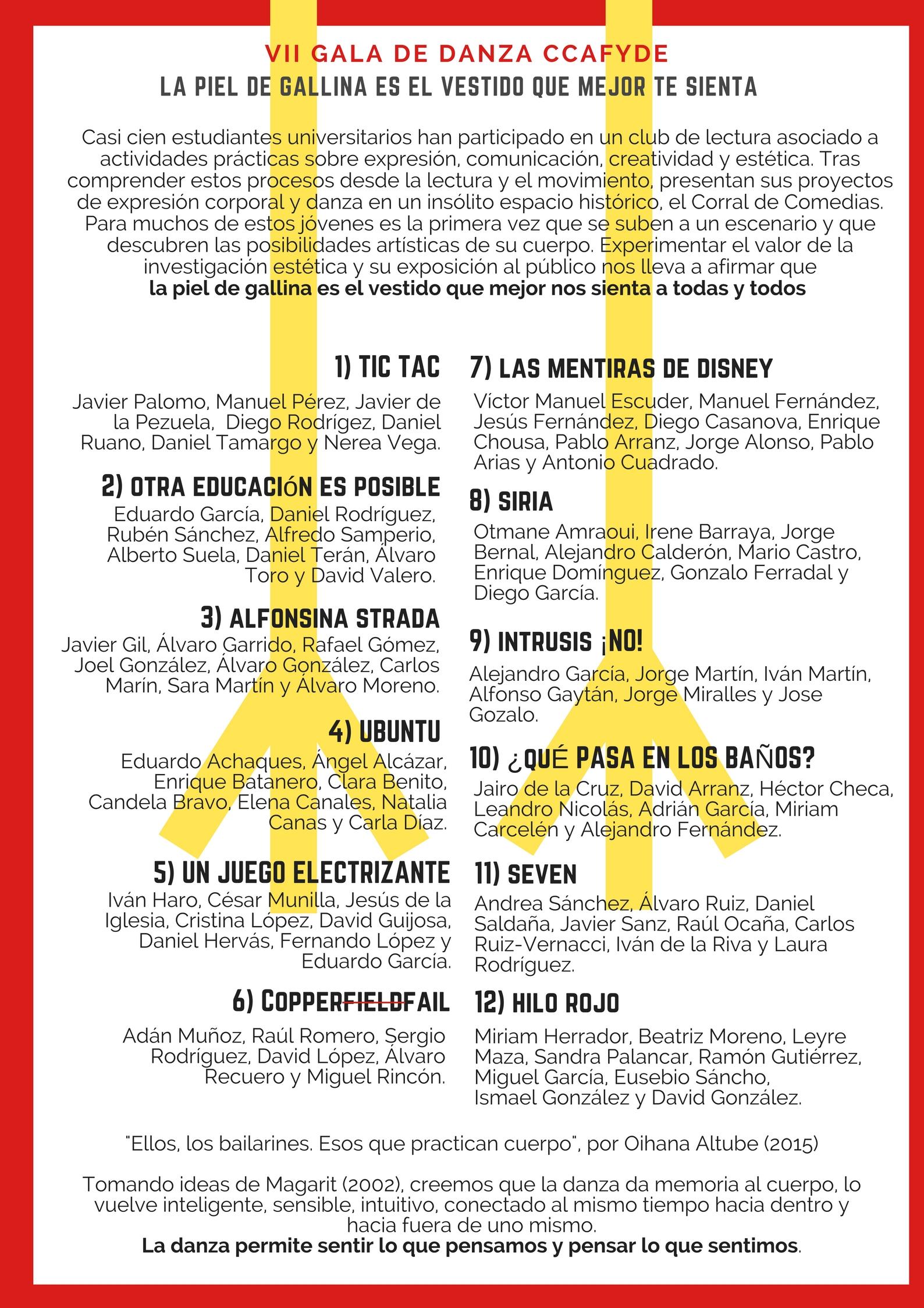 Flyer LA PIEL DE GALLINA ES EL VESTIDO QUE MEJOR TE SIENTA (1).jpg
