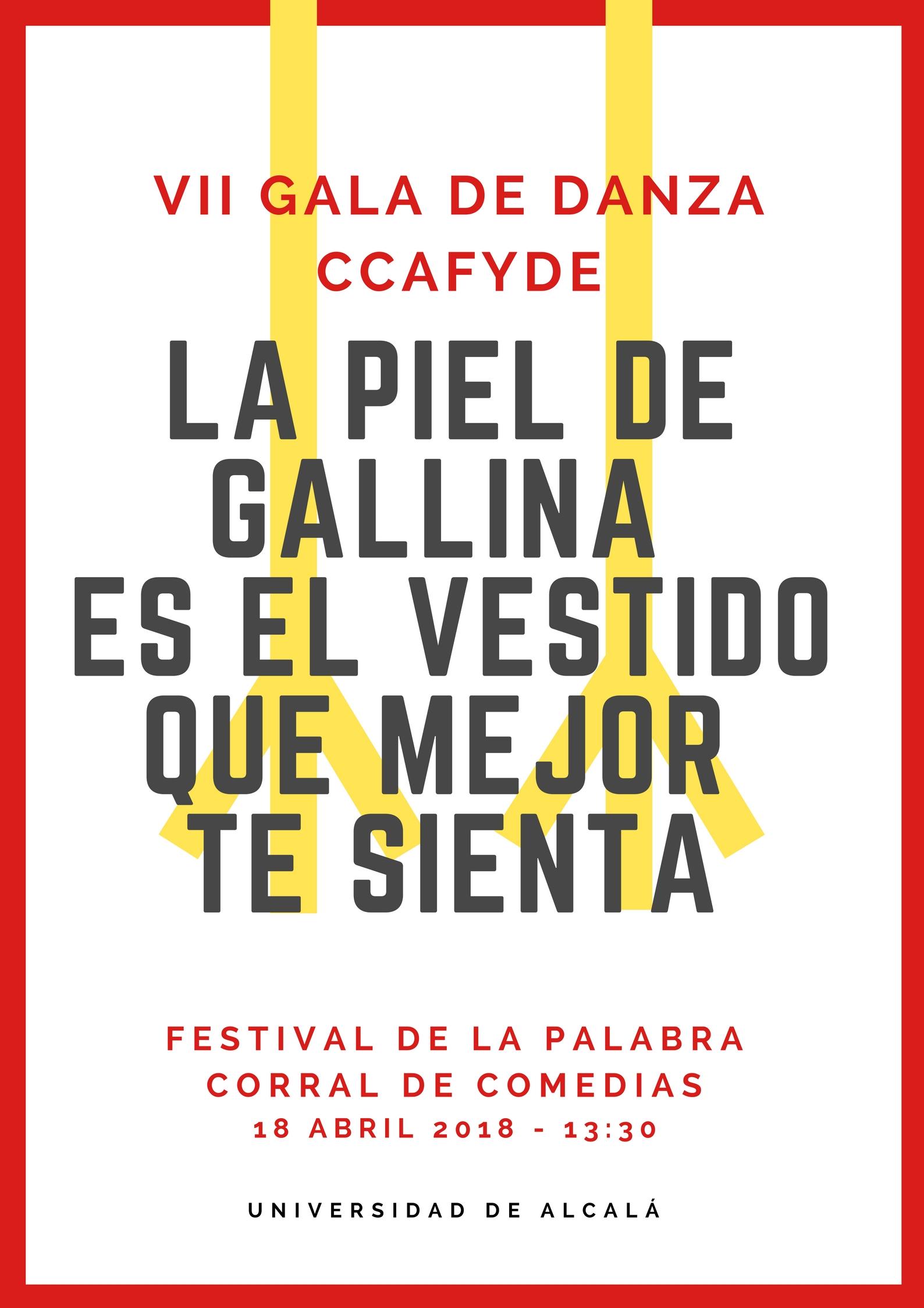 Cartel LA PIEL DE GALLINA ES EL VESTIDO QUE MEJOR TE SIENTA.jpg